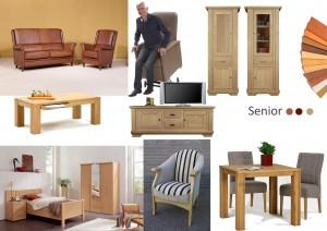 Wooninspiratie meertens meubelen - Stoel met armleuningen senior ...