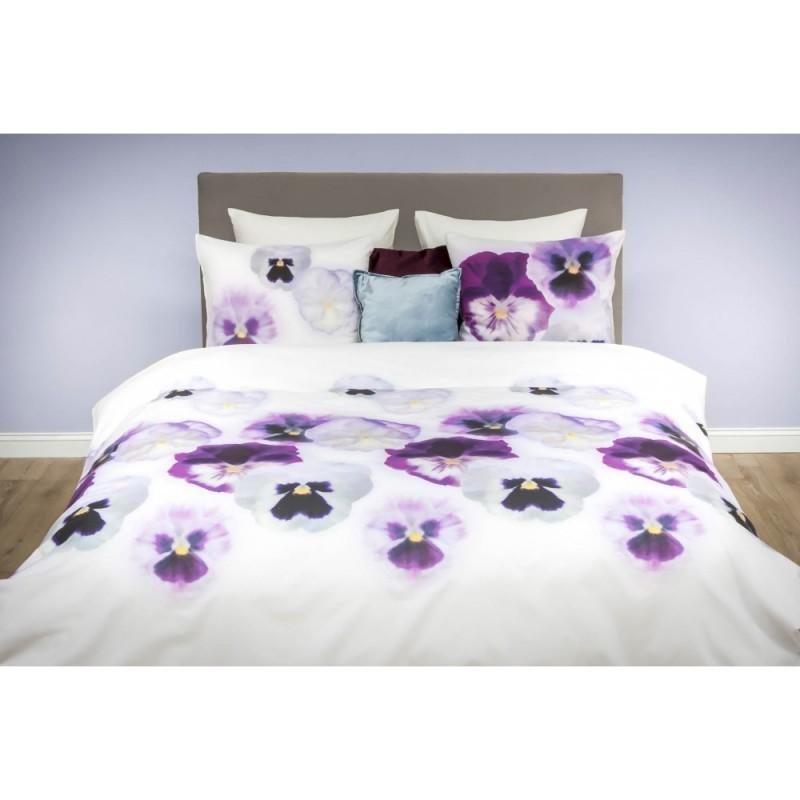 HNL Pure Cotton dekbedovertrek Violet