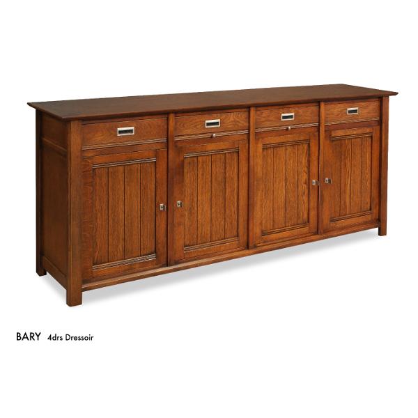 Bannink Bary dressoir 4-deurs