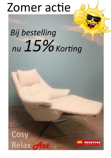 Hukla CA-02 relaxfauteuil zomeraanbieding - 15% korting!