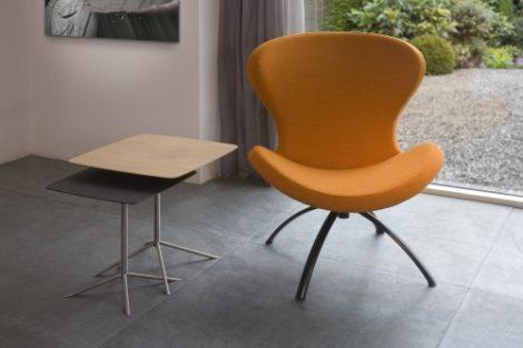 Bree's New World Ruby fauteuil okergeel