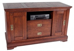 Van Rees Lexington tv-commode 120 - massief eiken klassiek tv-meubel
