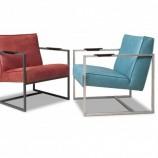 Alro Bibi fauteuil - stoere fauteuil met industriële invloeden