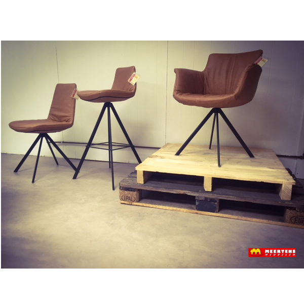 He design sheriff eetkamerstoel meertens meubelen - Zwarte eetstoel ...