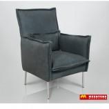 Easysofa Emlia fauteuil in leer