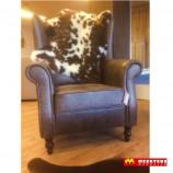 Cesar fauteuil - stoere retro fauteuil in prachtige vintagestoffen