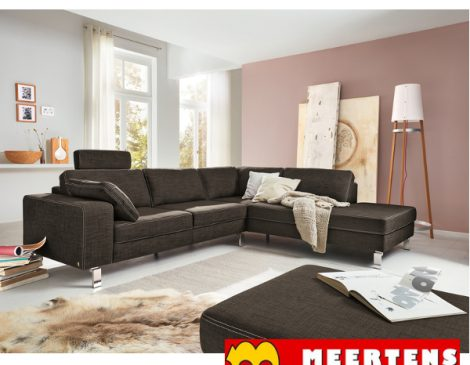 musterring mr 4500 hoekbank meertens meubelen. Black Bedroom Furniture Sets. Home Design Ideas