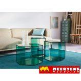 Helderr Hexagon glastafel