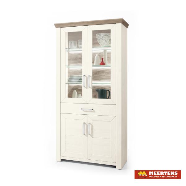 set one by musterring vitrinekast york meertens meubelen. Black Bedroom Furniture Sets. Home Design Ideas
