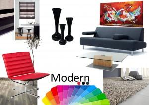 Wooninspiratie Moderne stijl