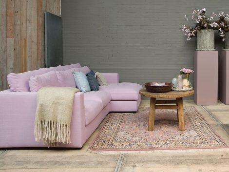 Easysofa Bagnes loungebank met longchair