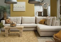Easysofa Bagnes II loungebank - ultiem loungen - diverse kleuren & stoffen