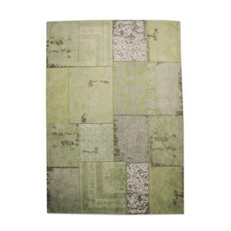 By-Boo vloerkleed patchwork groen