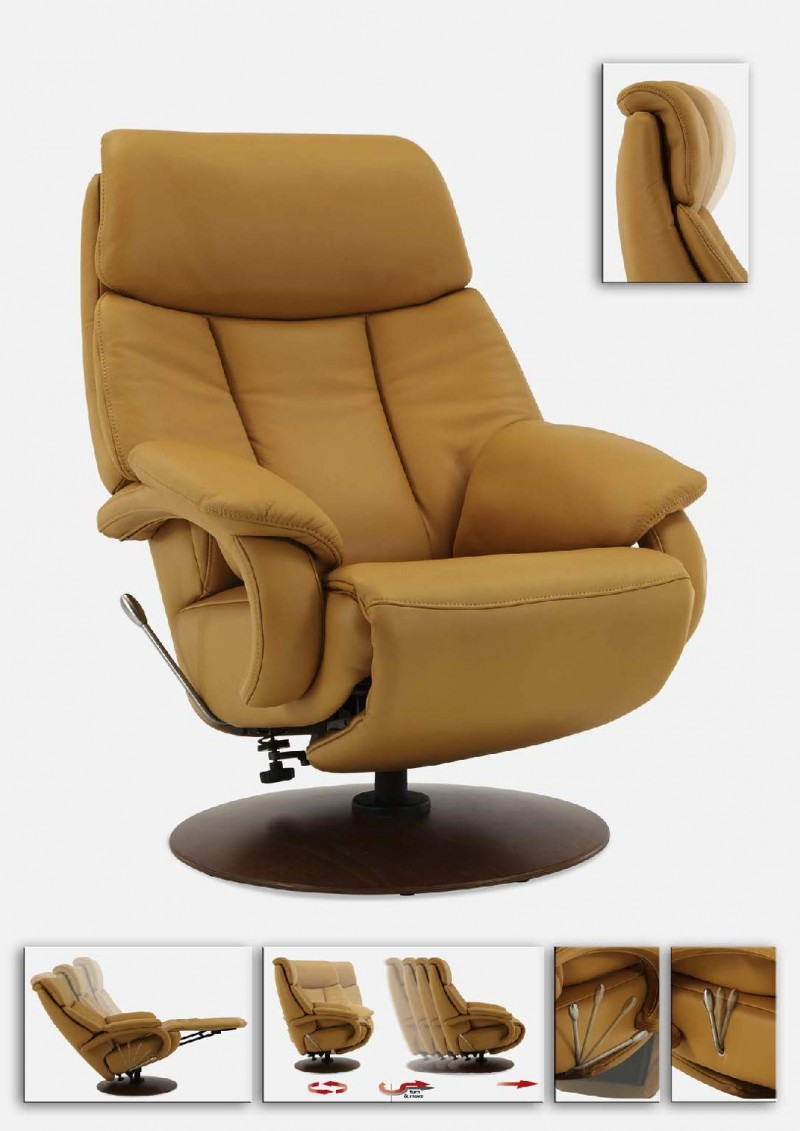 Hukla Cosy Relax 04 relaxfauteuil