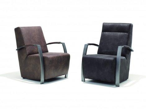 Romée Struk laag fauteuil en hoog fauteuil
