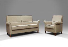 DN Design Eva bank met speciale interieurvering