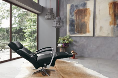 MR9130 relaxfauteuil ligstand