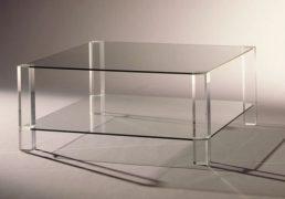 BOR-Design The Hague salontafel glas
