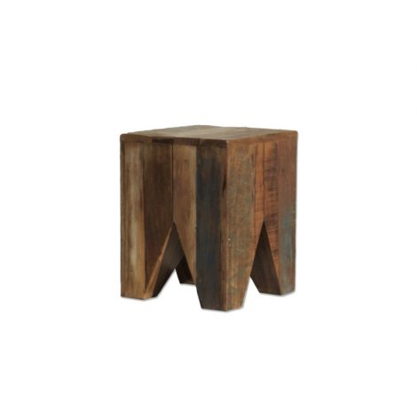 By-Boo stool wood square