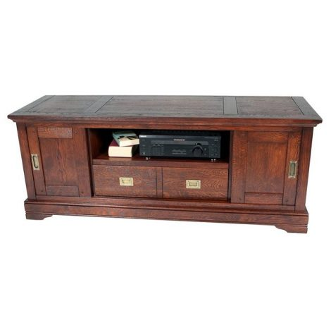 Van Rees Lexington tv-commode 160 - massief eiken klassiek tv-meubel