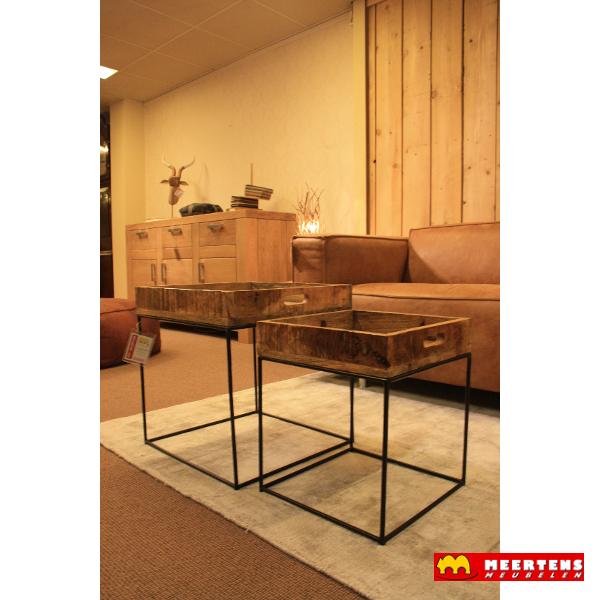 Salontafel set Wooden Tray