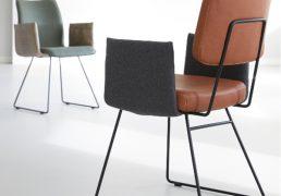 HE Design Brend eetkamerstoel achterkant