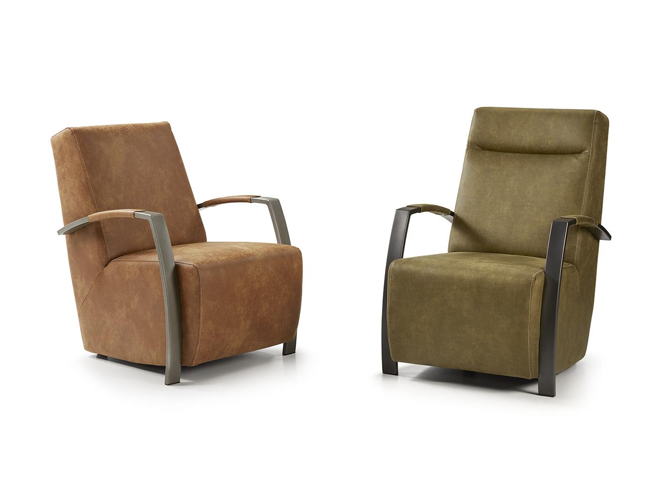 Heerlijk Zittende Fauteuil.Sit Design Fauteuil Cuba Meertens Meubelen
