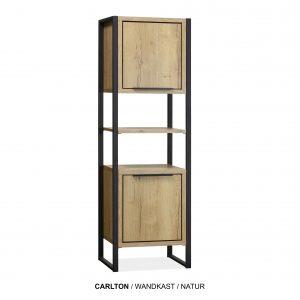 Carlton wandkast plank hout